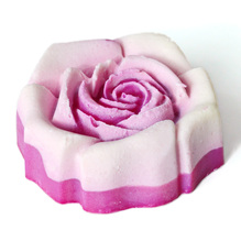 'Rosenseife' mit Joghurt