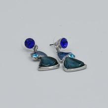 Ohranhänger Blau