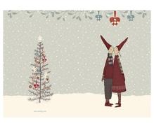 Maileg Pixy Kiss, Weihnachtsklappkarte mit Umschlag