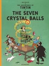 The Adventures of Tintin - The Seven Crystal Balls. Die sieben Kristallkugeln, englische Ausgabe | Hergé
