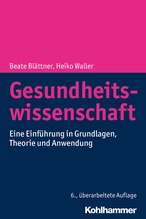 Gesundheitswissenschaft | Blättner, Beate; Waller, Heiko