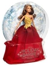 Mattel Barbie  2016 Holiday Doll brünett