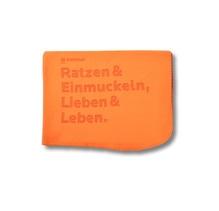 Bochum Spruch Kuscheldecke, farbig