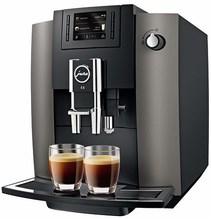 E6 Kaffee-Vollautomat dark inox