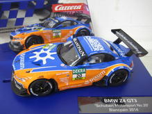 30744 Carrera Digital 132 BMW Z4 GT3 Schubert Motorsport No. 20 Blancpain 2014