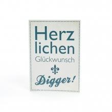 Postkarte 'Herzlichen Glückwunsch Digger!' - Labskaus