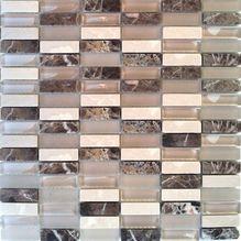 Glas/Stein ST BM Glas-Steinmosaik