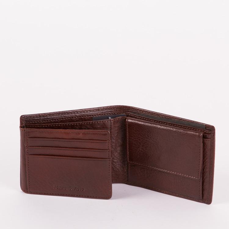 Marc O ´Polo Herrengeldbörse aus geprägtem Rindleder