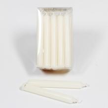 Baumkerzen 'wollweiß' Packung mit 20 Kerzen