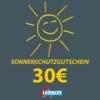 Sonnenschutzgutschein