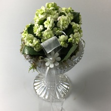 Blumen & Besonderes:Glas Pokal mit Calandiva