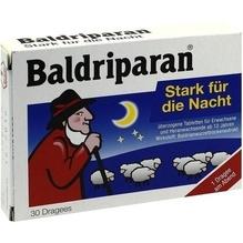 Baldriparan Stark für die Nacht überzogene Tab. 30 St