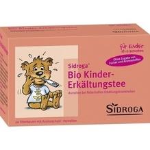 Sidroga Bio Kinder-Erkältungstee Filterbeutel 20 St