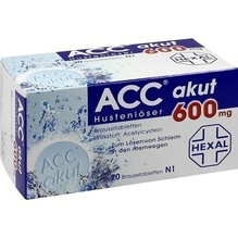 Acc akut 600 Brausetabletten 20 St