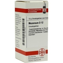 Mezereum D 12 Globuli 10 g
