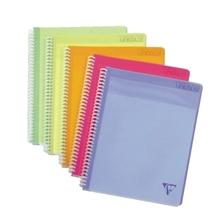 Clairefontaine Meetingblock 328000C DIN A4 80Blatt farbig sortiert