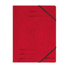 Herlitz Eckspanner 11387172 DIN A4 Colorspankarton rot