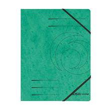Herlitz Eckspanner 972471 DIN A4 Colorspankarton grün