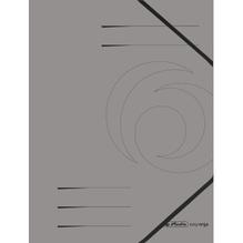 Herlitz Eckspanner 11159670 DIN A4 Colorspankarton dunkelgrau