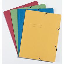 Eckspanner DIN A4 max. 150Blatt Recyclingkarton gelb