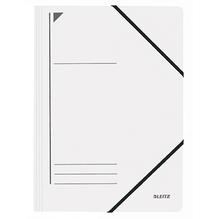 Leitz Eckspanner 39800001 DIN A4 250Blatt Colorspankarton weiß