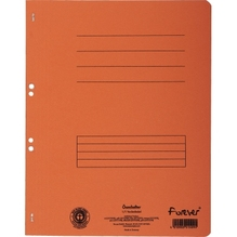 Exacompta Ösenhefter Forever 351509B voller Deckel A4 orange