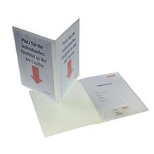 dataplus Angebotsmappe Klassik 20186.086 DIN A4 natur-transparent