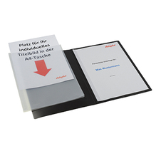 dataplus Präsentationsmappe Slide S 20187.086 DIN A4 natur-transparent