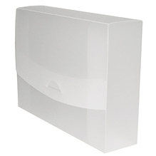 dataplus Sammelmappe 27475.086 DIN A4 75mm PP transparent