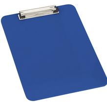 Klemmbrett DIN A4 Polystyrol blau