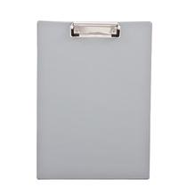 Klemmbrett DIN A4 Polystyrol grau