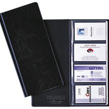 DURABLE Visitenkarten-Buch VISIFIX 238001 für 96Karten 90x57mm sw