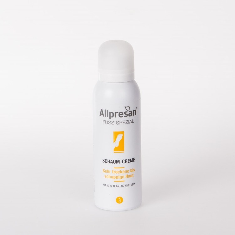 Allpresan  Schaum-Creme Fuß Spezial 3