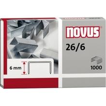 NOVUS Heftklammer 26/6 040-0056 verzinkt 1.000 St./Pack.
