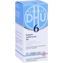 Biochemie Dhu 6 Kalium sulfuricum D 6 Tabletten 80 St
