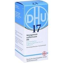 Biochemie Dhu 17 Manganum sulfuricum D 6 Tabletten 80 St