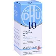 Biochemie Dhu 10 Natrium sulfuricum D 6 Tabletten 80 St