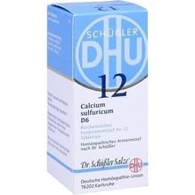 Biochemie Dhu 12 Calcium sulfuricum D 6 Tabletten 80 St