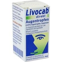 Livocab direkt Augentropfen 4 ml