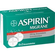 Aspirin Migräne Brausetabletten 12 St