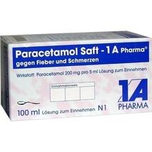 Paracetamol Saft 1A Pharma gg.Fieber u.Schmerzen 100 ml