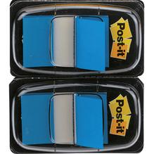 Post-it Haftstreifen Index Standard 680-BE2 50Blatt blau 2 St./Pack.
