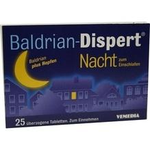 Baldrian Dispert Nacht zum Einschlafen üb.Tabl. 25 St