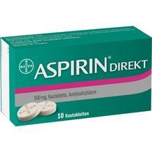 Aspirin Direkt Kautabletten 10 St