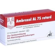 Ambroxol Al 75 retard Retardkapseln 20 St