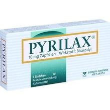 Pyrilax 10 mg Suppositorien 6 St