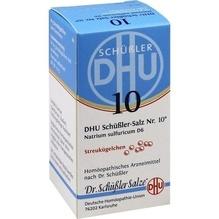 Biochemie Dhu 10 Natrium sulfuricum D 6 Globuli 10 g