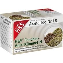 H&S Fenchel-Anis-Kümmel N Filterbeutel 20 St