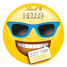 Lindt 'HELLO Emoti – just too cooooool!', 30g