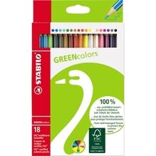 STABILO Farbstift GREENcolors 6019/2-181 sortiert 18 St./Pack.